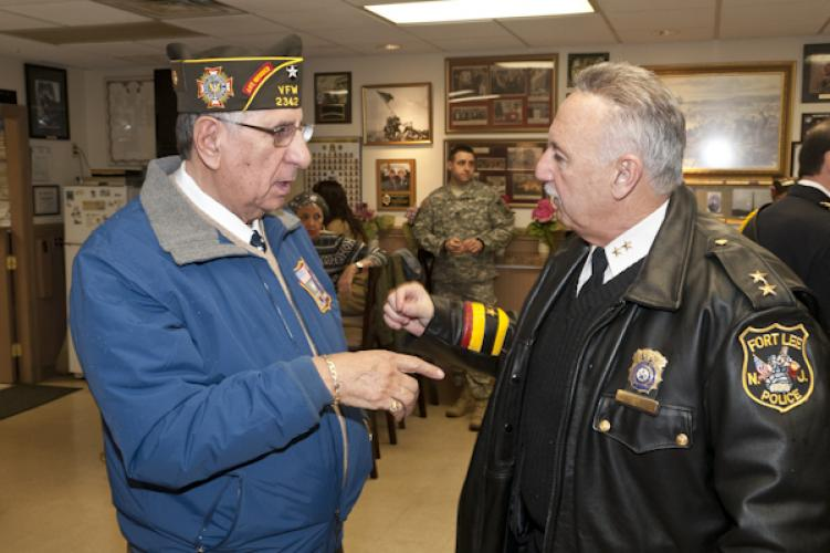Fort Lee Post 2342 Pearl Harbor Remembrance 120712
