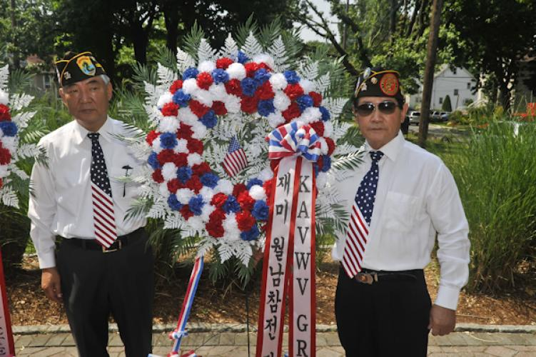 Fort Lee Post 2342 Korean War Ceremony 062513